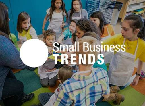 Small Business Trends features Kidcreate Studio