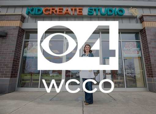 Kidcreate Studio Featured on WCCO – CBS 4 Minneapolis & AOL