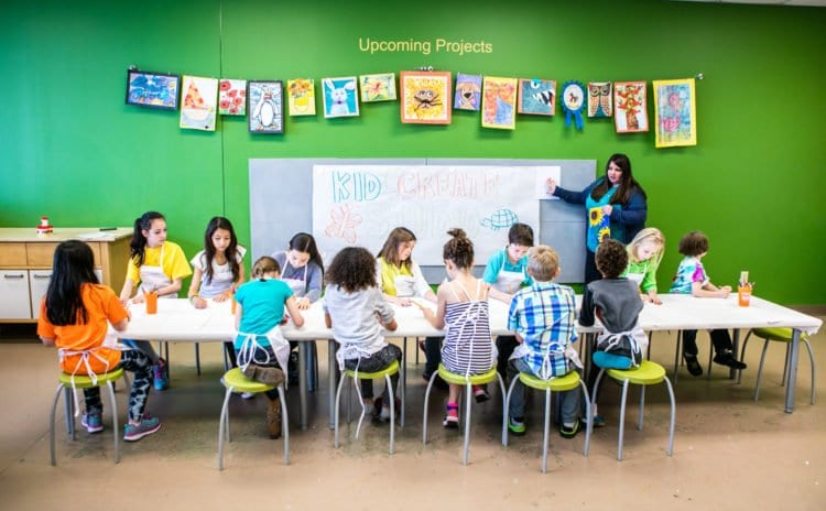 Kidcreate Studio Looks To Share Their Art Education with Dallas, Texas