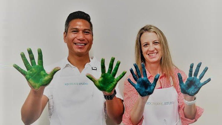 Kidcreate Studio Officially Open in Broomfield with Rod and Jen Arreola!