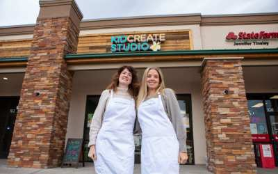 Lindsay and Allison Celebrate One Year of Owning an Education Franchise!