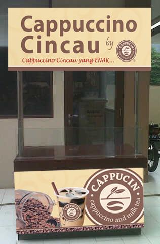 Paket Usaha Cappucino Cincau Murah dan Menguntungkan