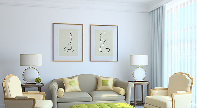 art in living room wall paint color ideas decor the great frame up chicago modern interior furniture and custom framed artwork beautifully arranged