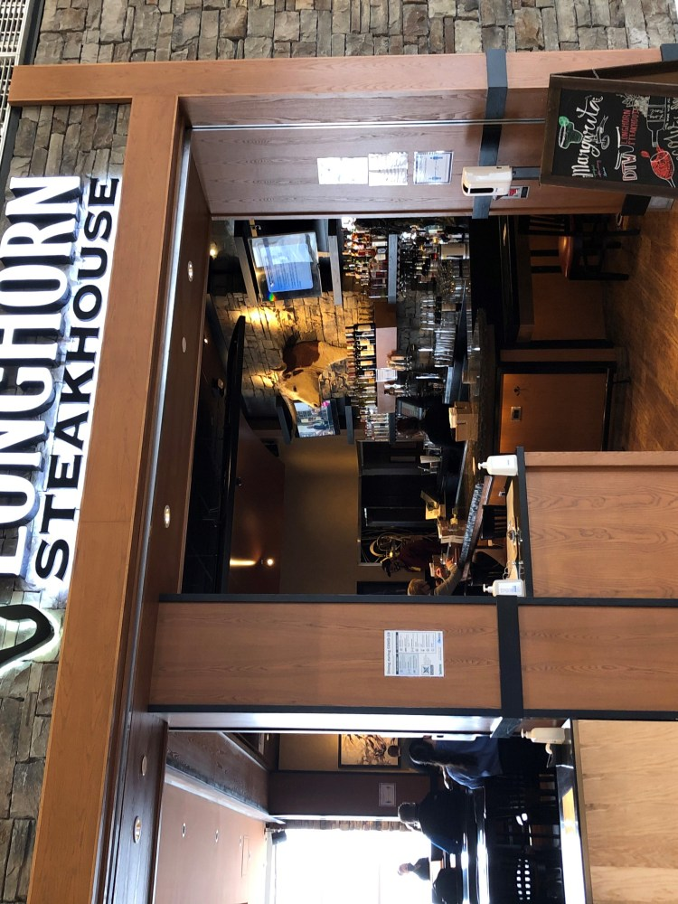Longhorn Steakhouse Franchising Airport Location