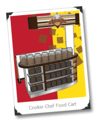 cart cookie food chef