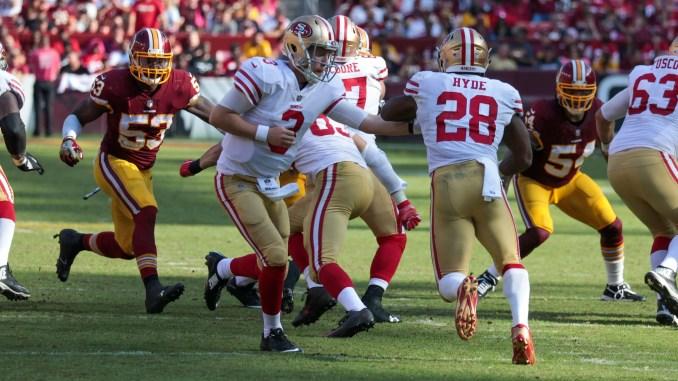 49ers at Redskins 10/15/17