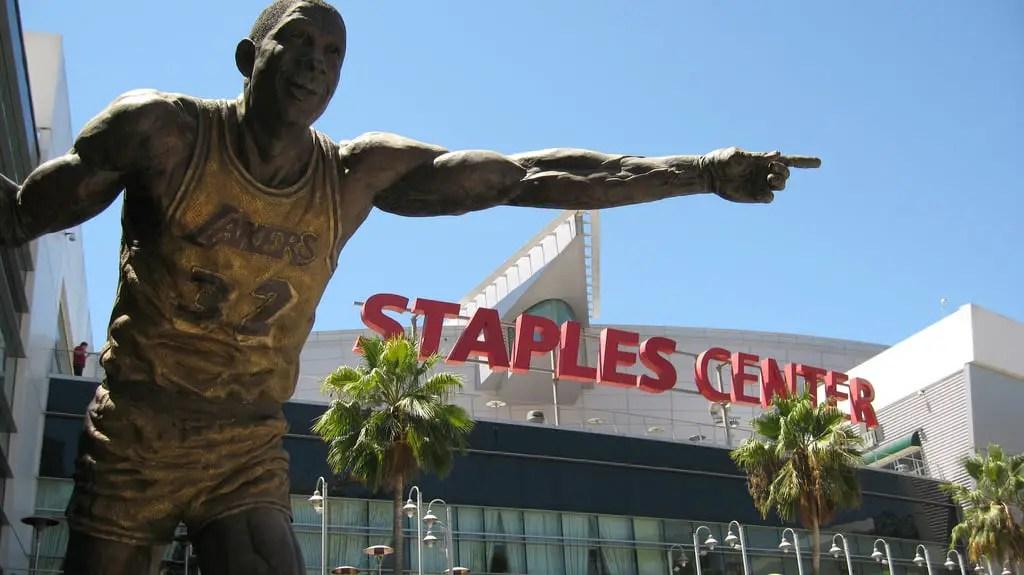 Staples Center - Magic Johnson
