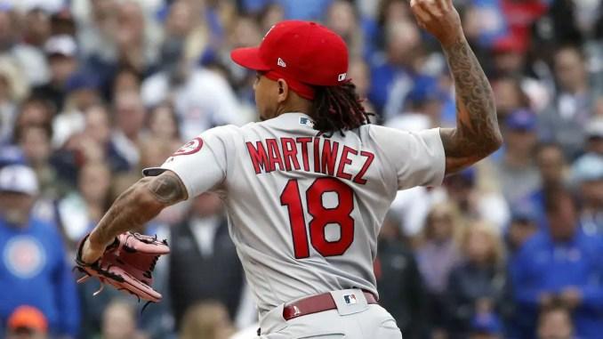 hot sale online 99c57 7eefc St Louis Cardinals must trade Carlos Martinez before the ...