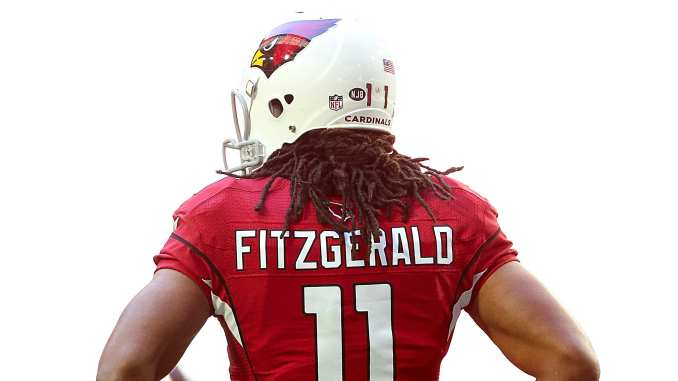 best deals on eb434 5e5c0 Larry Fitzgerald's career: Amazing hands, philanthropist ...