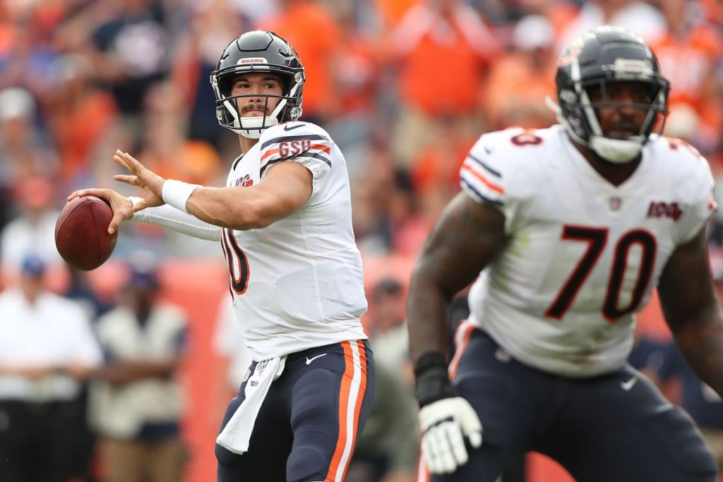 Chicago Bears week 2 win raises more questions than answers at QB position