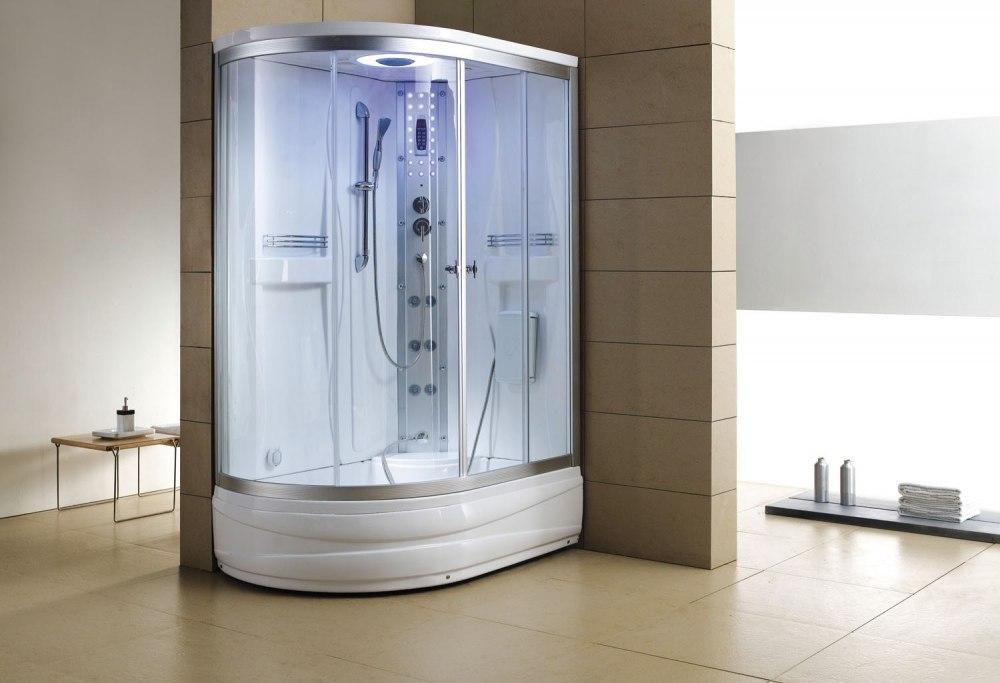 cabine de douche hydromassante avec hammam et baignoire at 004 1