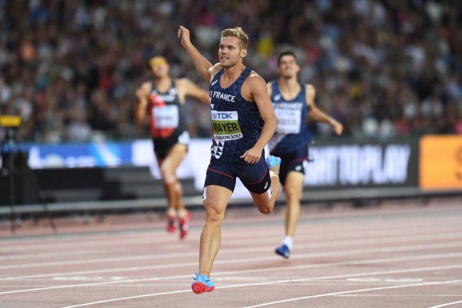 Kevin Mayer, Medalla de Oro en decatlón.