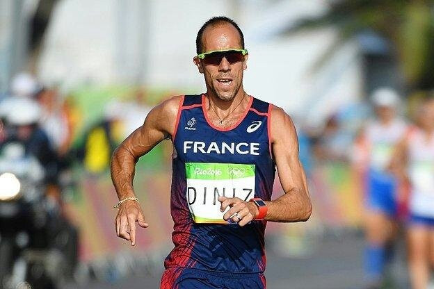 Yohann Diniz, Medalla de Oro 50 km. marcha.