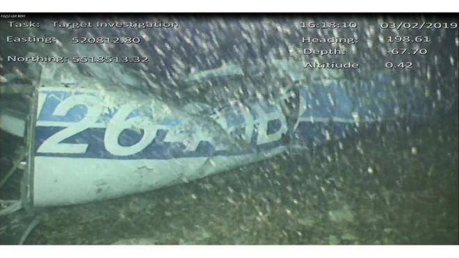 La avioneta que transportaba a Emiliano Sala