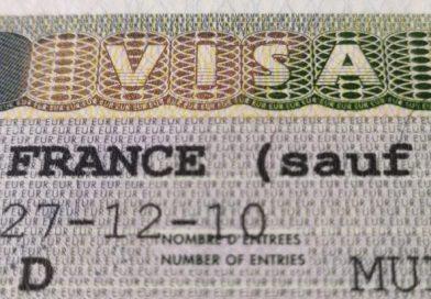 Visa de estudiante francesa.