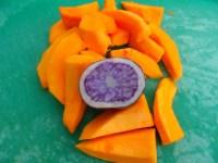 Truffelaardappel en pompoen