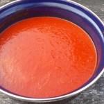 Rode paprikasoep