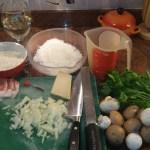 Ingrediënten voor de Risotto