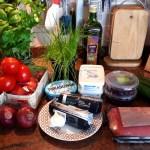 ingrediënten voor de picanha en chimichurri