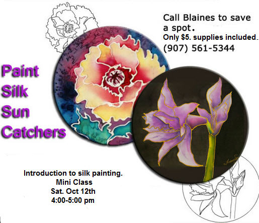 Silk Painting Mini Class