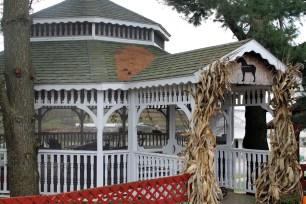 Gazbo on Amish farm
