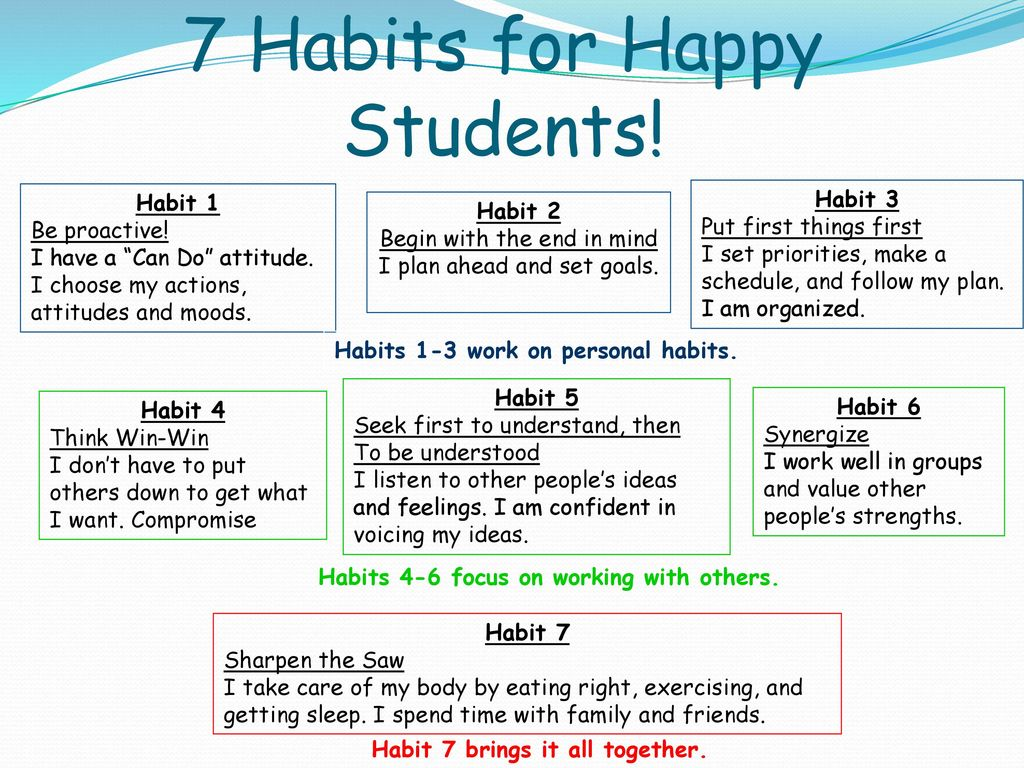 What Are The 7 Habits