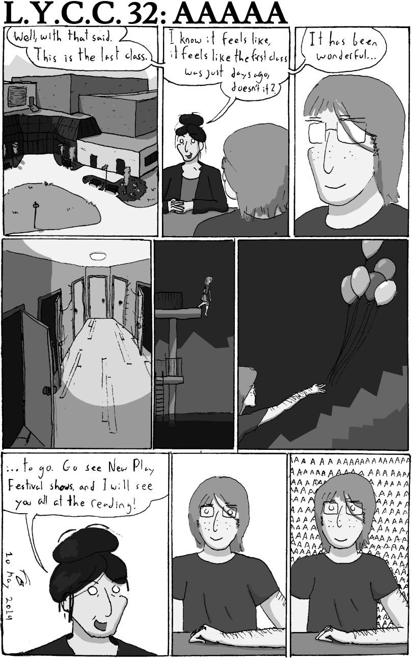 last year comic chronicle