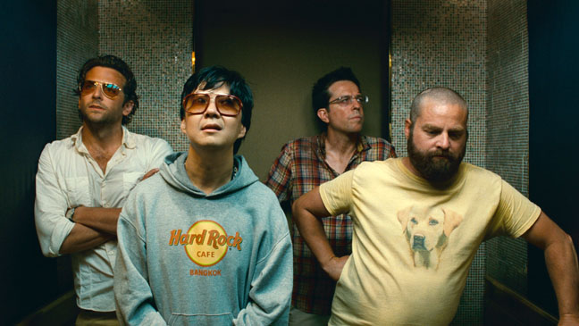 (L-r) BRADLEY COOPER as Phil, KEN JEONG as Mr. Chow, ED HELMS as Stu and ZACH GALIFIANAKIS as Alan in Warner Bros. PicturesÕ and Legendary PicturesÕ comedy ÒTHE HANGOVER PART II,Ó a Warner Bros. Pictures release.