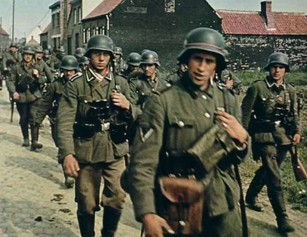 WW2-German-troops-in-Belgium-1940
