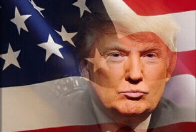 trump-face-american-flag