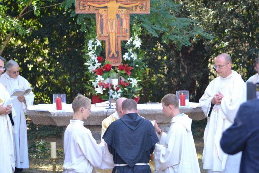 Profession solennelle de fr. Jérémie – Marie