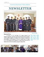 Vietnam Delegation Newsletter – Lent 2017