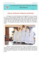 Vietnam Delegation – Ordination – August 2017