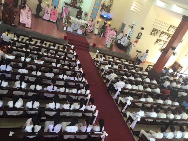 First Communion parish near Cu Chi Frairy