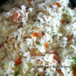 trinity rice with almonds c square