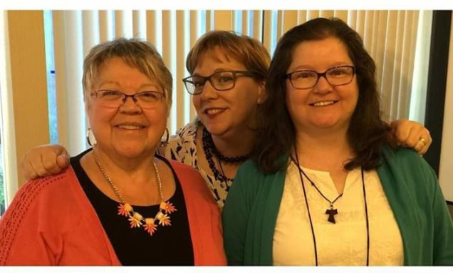 With Margaret Rose Realy, Obl. OSB and Erin McCole-Cupp, OP.
