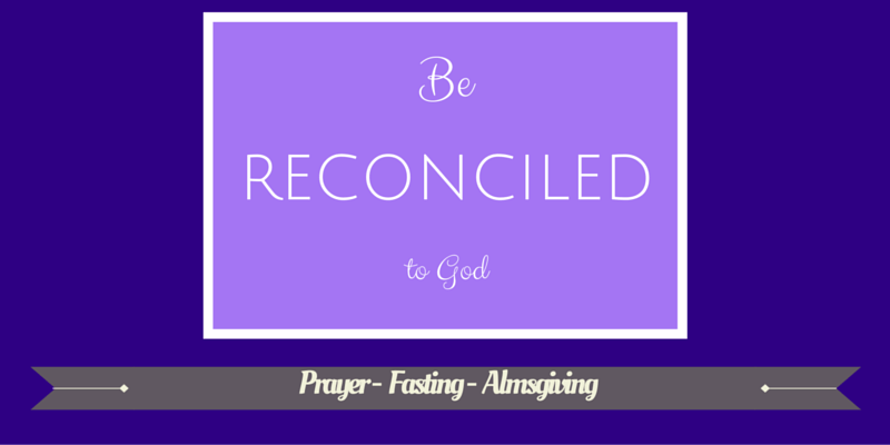 Be Reconciled to God