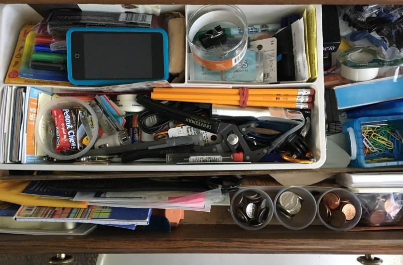 """""""Junk drawer superpowers"""" by Barb Szyszkiewicz @franciscanmom"""