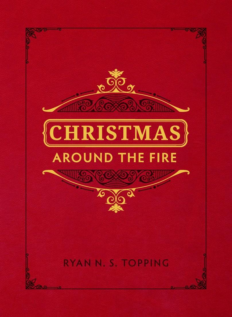 christmas around the fire