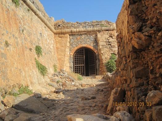 Castle Entrance, Gramvousa