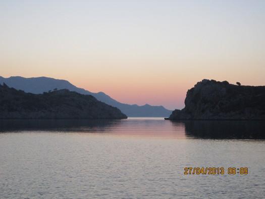 Sunrise, Serce Limane, Turkey