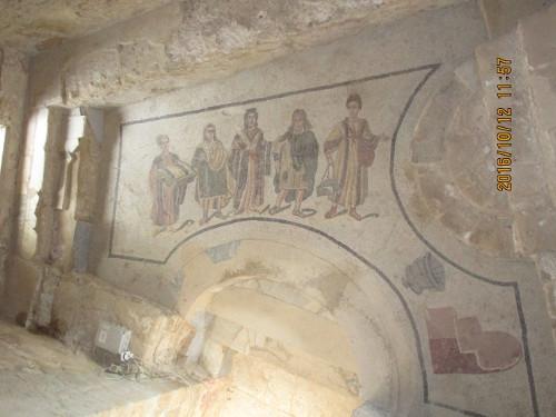 Floor Mosaics, Villa Romana di Casale