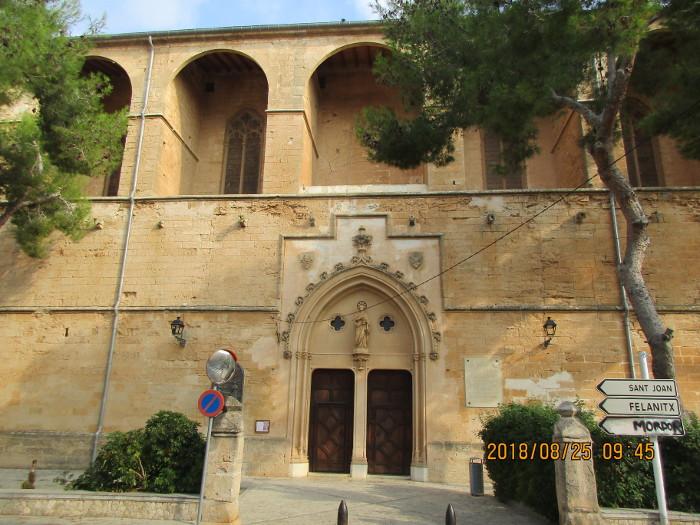 Church of St. Peter, Petra, Mallorca