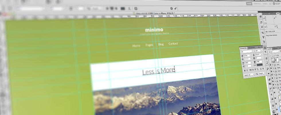 5 consejos para usar photoshop en el diseño web