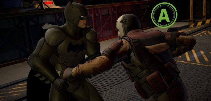 Batman Telltale game fight system