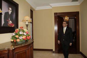 Presidente Funes y monseñor Romero