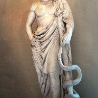 La serpiente que curó la peste en Roma