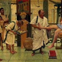 Médicos griegos vs médicos romanos