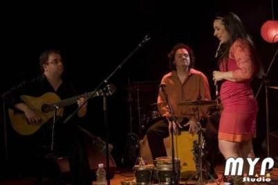 Comme artiste invité avec Gabi Macaluso et Éric Breton.