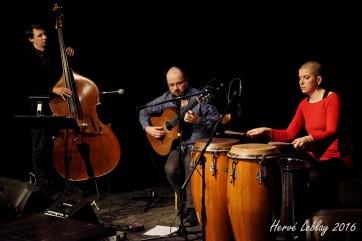 Trio Francis Leclerc - Marise Demers et Jérémie Jones- Bistro St-Cath. 2016